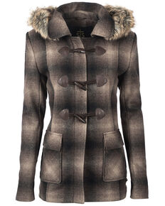 STS Ranchwear Women's The Story Wool Jacket, Brown, hi-res