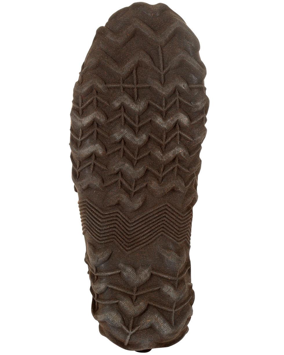 Rocky Men's Core Chore Rubber Outdoor Boots - Round Toe, Dark Brown, hi-res