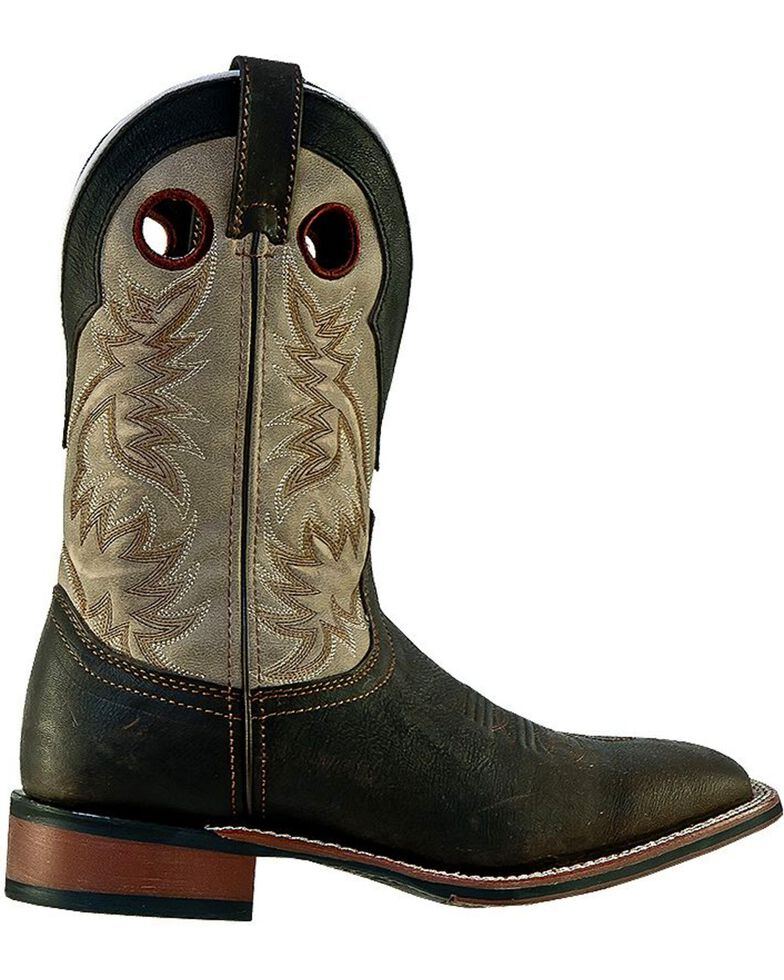 Laredo Men's Western Stockman Boots, Brown, hi-res