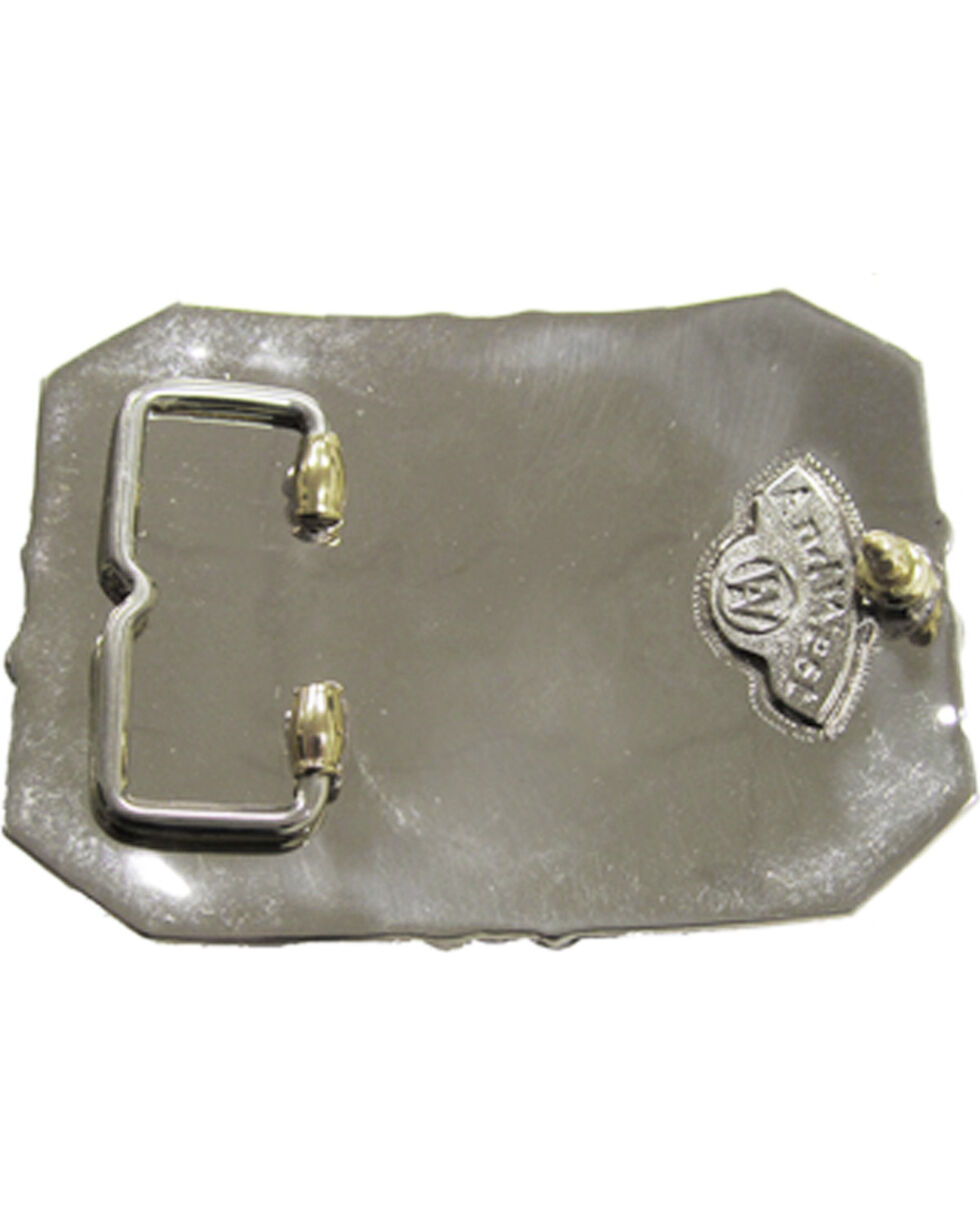 AndWest Bucking Horse Filigree Buckle, Multi, hi-res