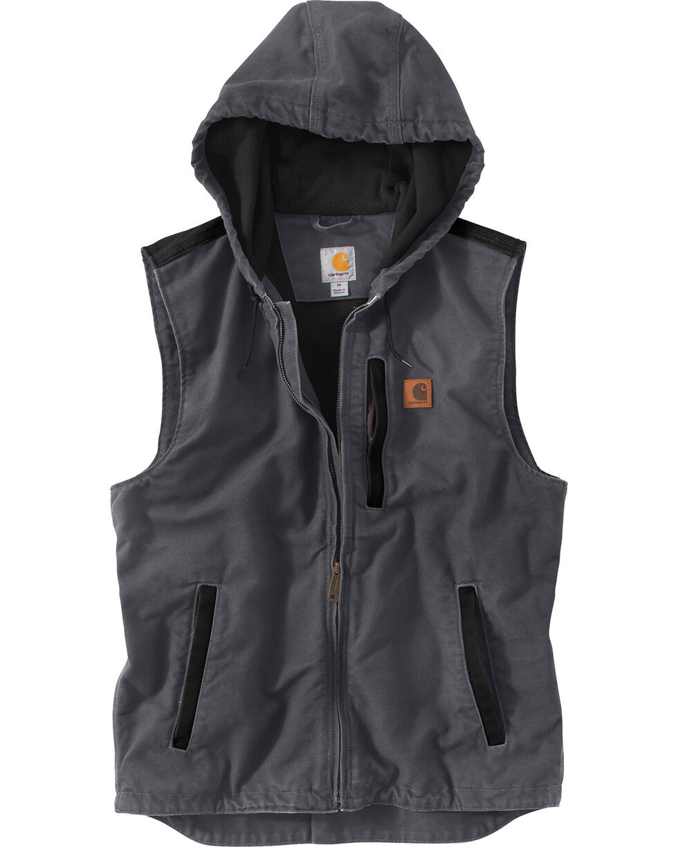 Carhartt Men's Dark Grey Knoxville Vest , , hi-res