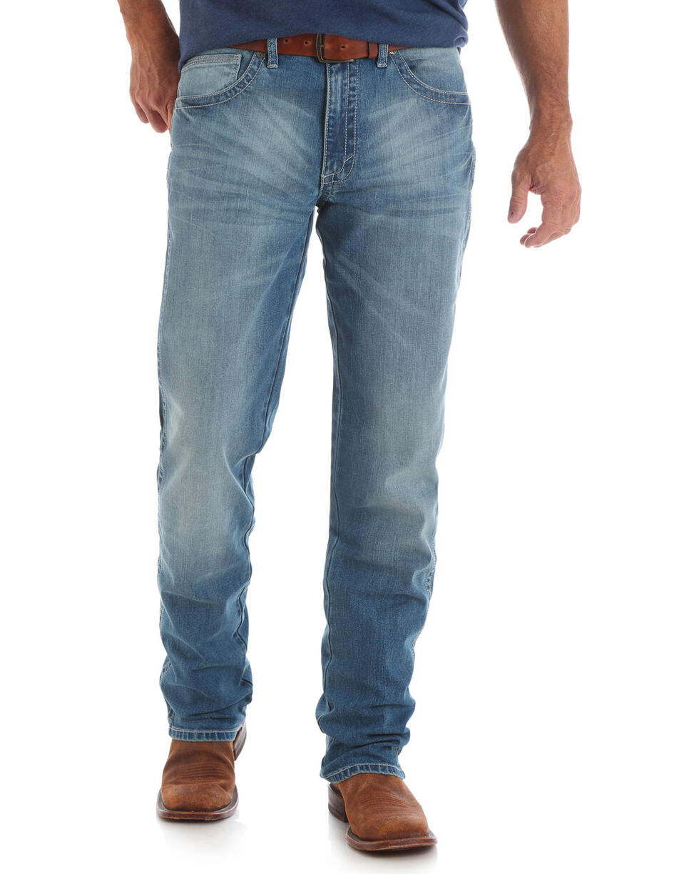 Wrangler 20X Men's No.44 Slim Fit Jeans - Straight Leg , Indigo, hi-res