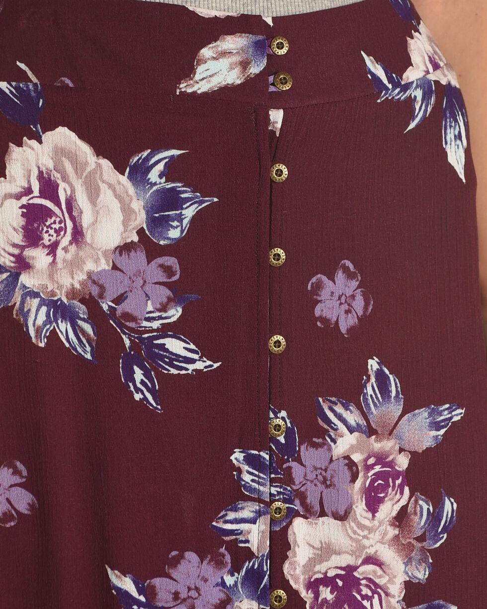 Shyanne Women's Floral Ruffle Hem Maxi Skirt, , hi-res