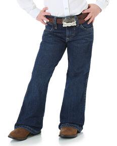 Wrangler Toddler's Premium Patch Jeans, Blue, hi-res