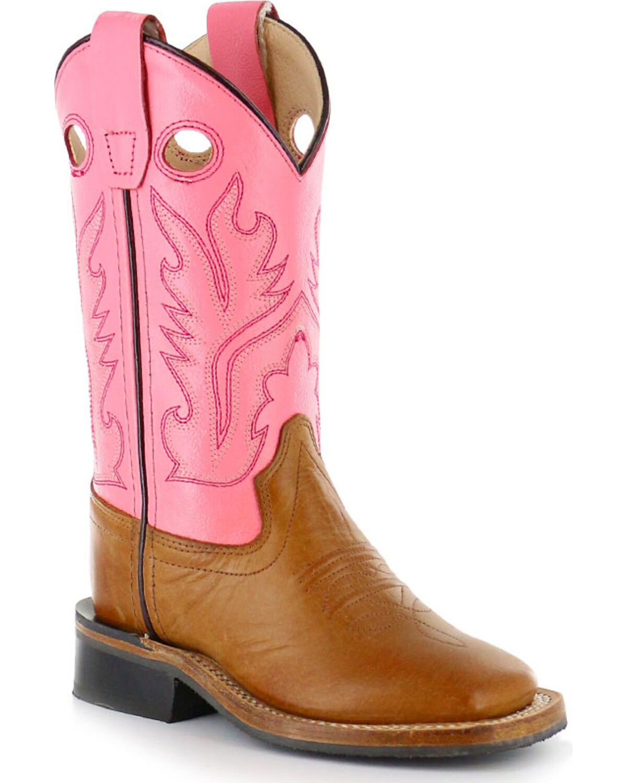 Children's Square Toe Western Boots