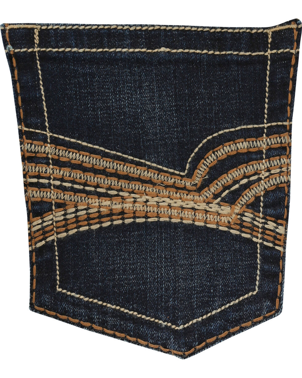 Wrangler Men's Indigo 20X No. 42 Vintage Stretch Denim Boot Jeans - Long , , hi-res
