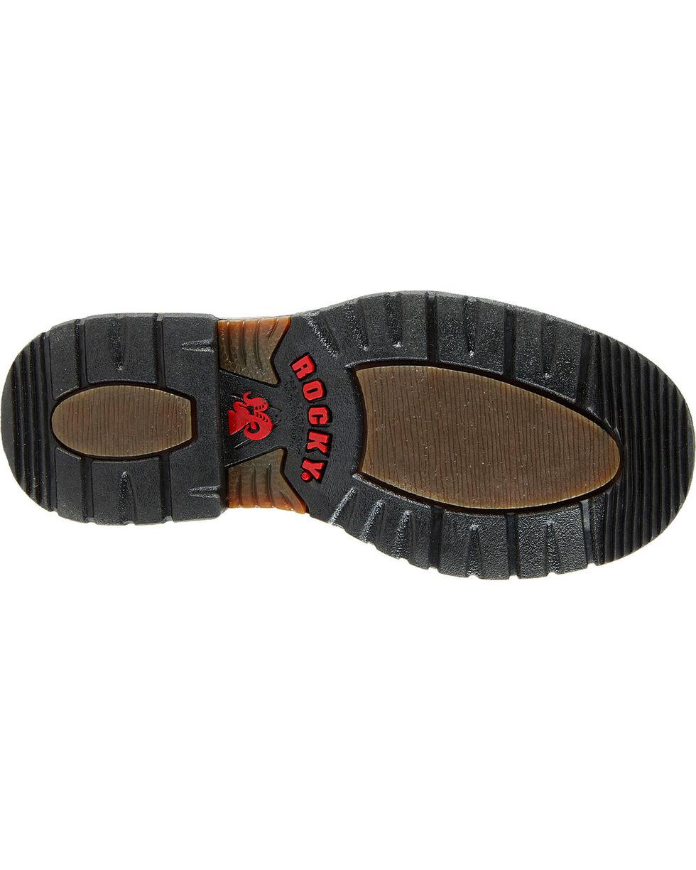 Rocky Kid's Branson Roper Western Boots, Brown, hi-res
