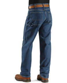 Dickies Relaxed Fit Carpenter Work Jeans, Denim, hi-res