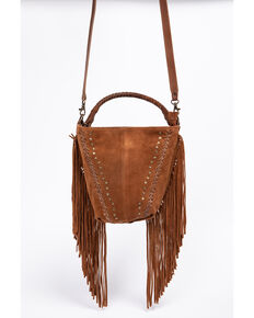 d3eee464bb Idyllwind Women s Fringe Swagger Crossbody Bag