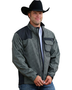 Cinch Men's Bonded Adjustable Cuffs Western Jacket, Olive, hi-res