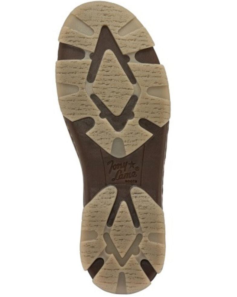 Tony Lama Men's Nudo Tan Shoes - Moc Toe, Tan, hi-res
