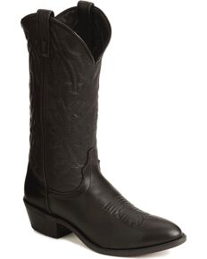Laredo Men's Jacksonville Western Boots, Black, hi-res
