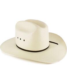 f801b57db177d3 Resistol Kid's Elastic Fit Straw Cowboy Hat