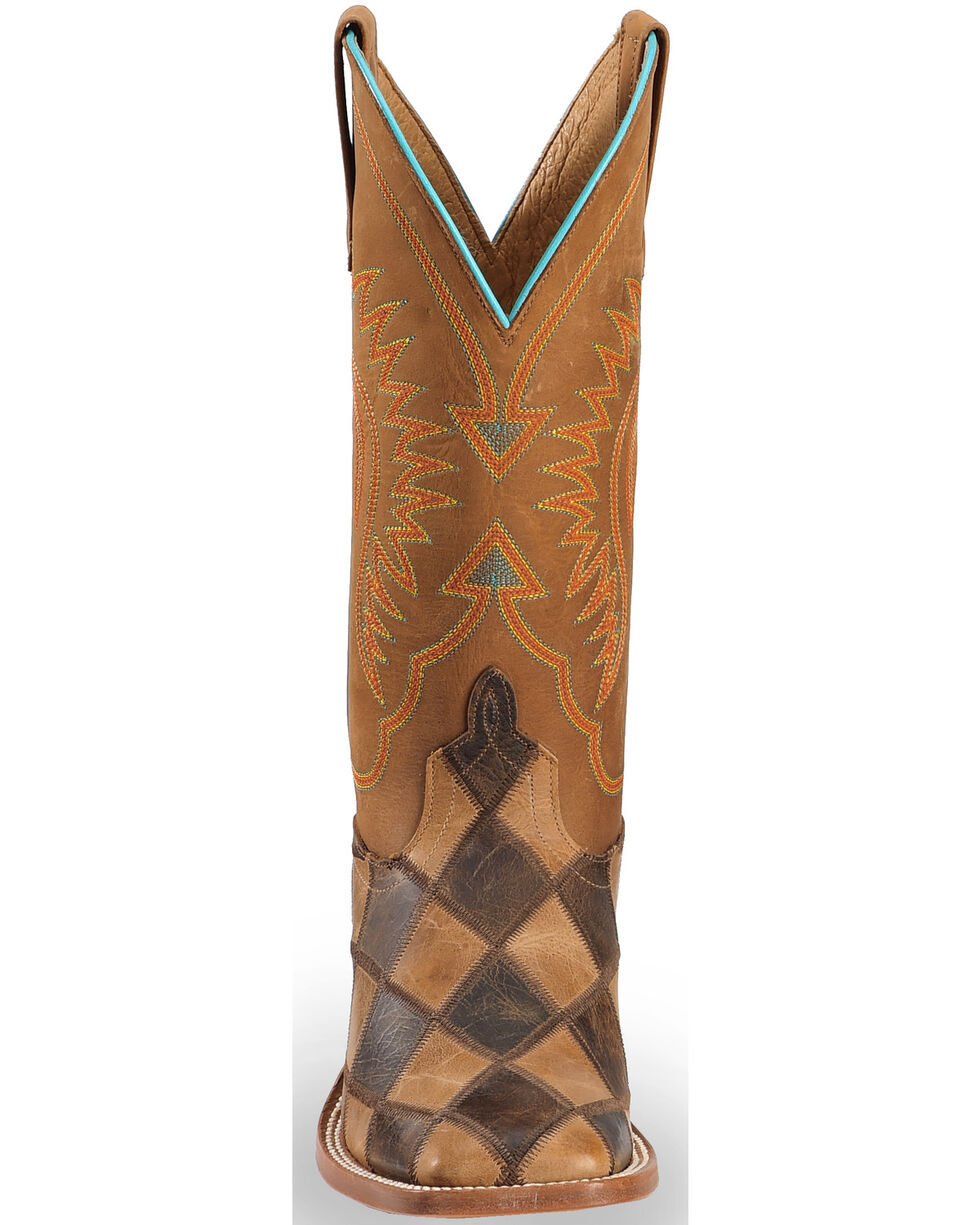Horse Power by Anderson Bean Men's Patchwork Boots, Brown, hi-res