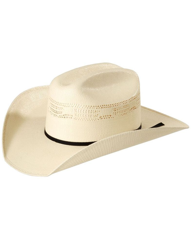 Justin 20X Cutter Straw Cowboy Hat, Natural, hi-res
