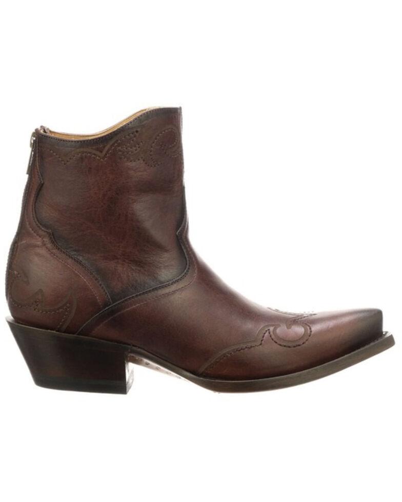 Lucchese Women's Ilibert Fashion Booties - Snip Toe, Brown, hi-res