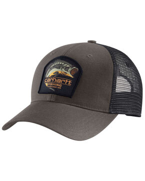 Carhartt Men's Largemouth Bass Cap, Grey, hi-res