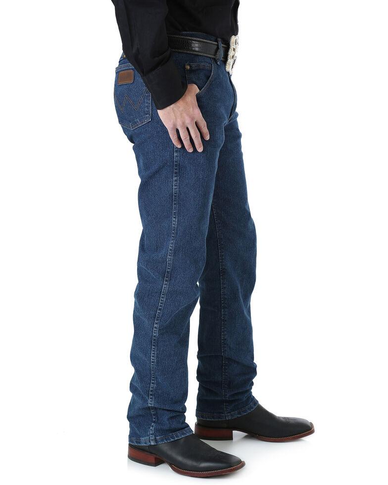 Wrangler Men's Premium Performance Advanced Comfort Jeans, Med Stone, hi-res