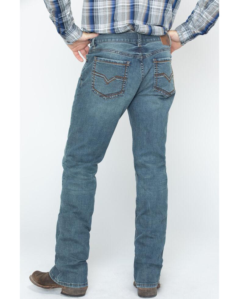 Moonshine Spirit Men's Medium Stretch Straight Jeans, Indigo, hi-res
