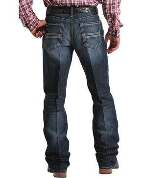Cinch Men's Grant Mid-Rise Relaxed Fit Boot Cut Jeans, Indigo, hi-res
