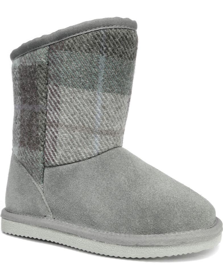 Lamo Girls' Wembley Boots - Round Toe , Grey, hi-res