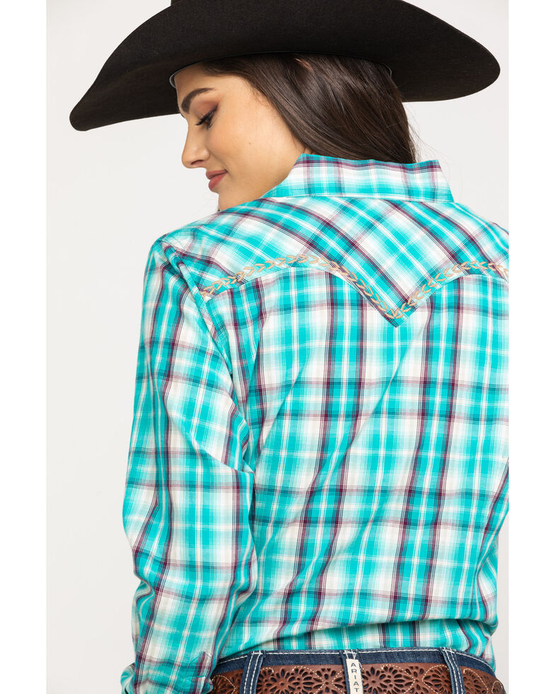 Ariat Women's R.E.A.L. Sweetheart Long Sleeve Western Shirt, Multi, hi-res
