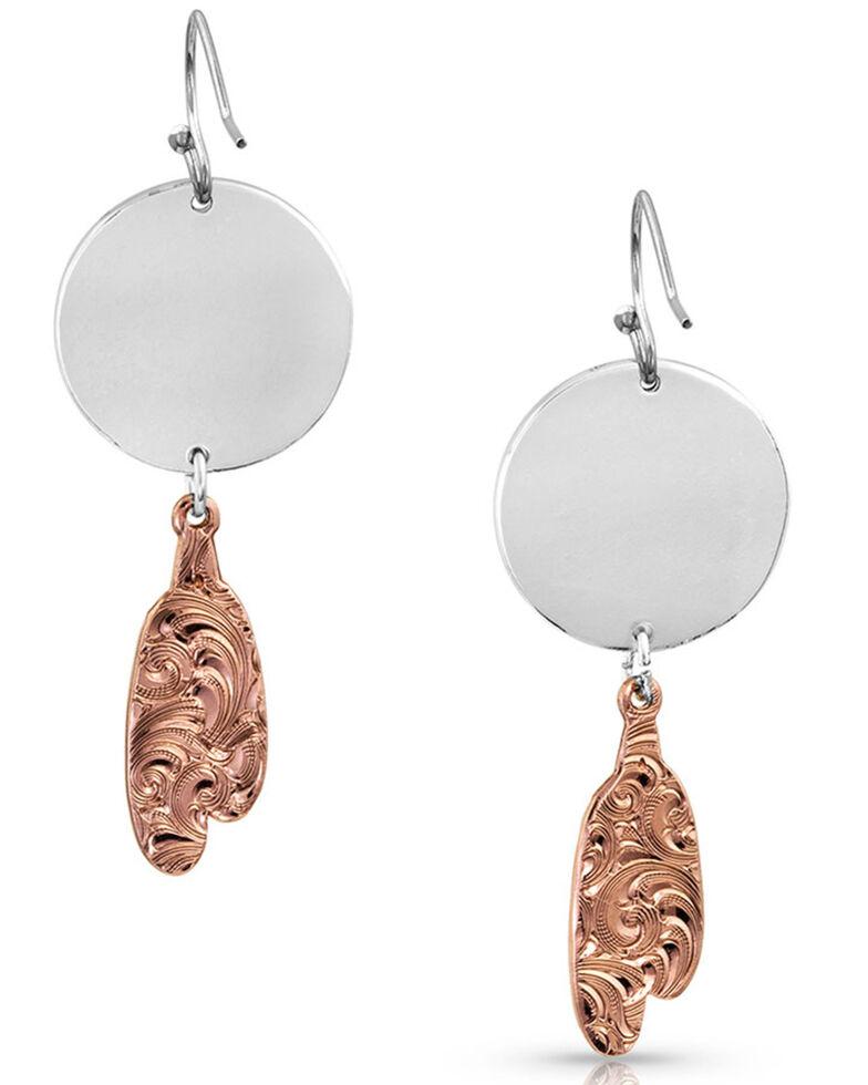 Montana Silversmiths Women's Roam Free Earrings, Silver, hi-res