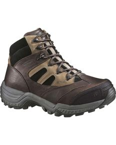 Wolverine Men's Kingmont Metatarsal Guard Hiker, Dark Brown, hi-res