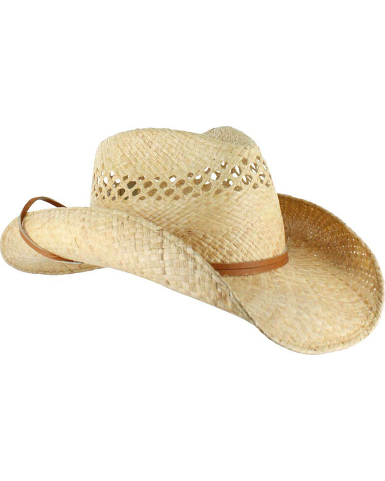 Stetson Bridger Straw Hat, Natural, hi-res