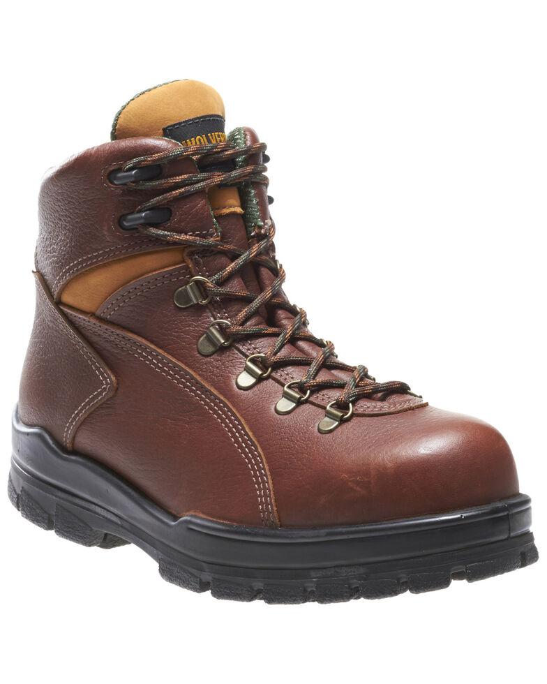 Wolverine Men's Durashocks Waterproof Work Boots - Steel Toe, Brown, hi-res