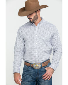 Ariat Men's Ferndale Stretch Geo Print Long Sleeve Western Shirt - Tall , Multi, hi-res