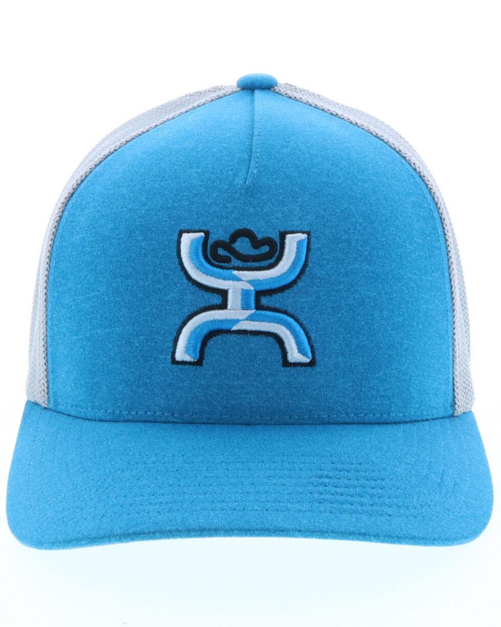 HOOey Men's Blue Coach Cap, Heather Grey, hi-res