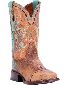 Dan Post Women's McKenna Western Boots, Tan, hi-res