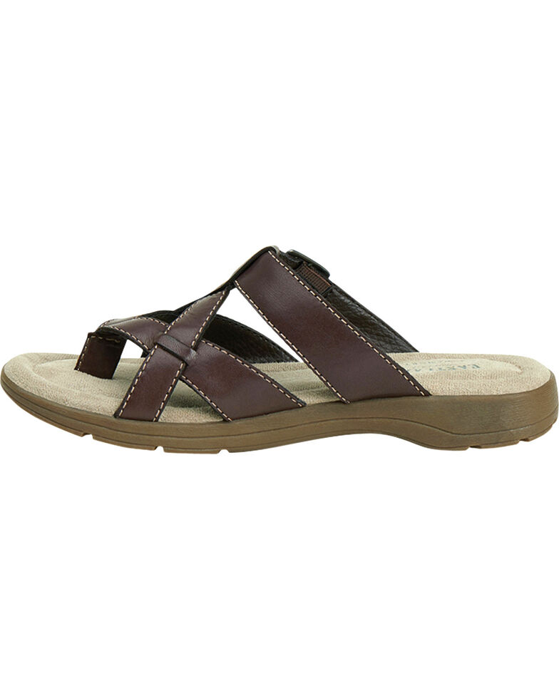 bea98f7069c5 Eastland Women s Brown Pearl Thong Sandals