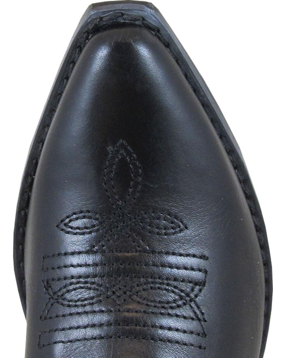 Smoky Mountain Youth Girls' Rosalito Western Boots - Snip Toe , Black, hi-res