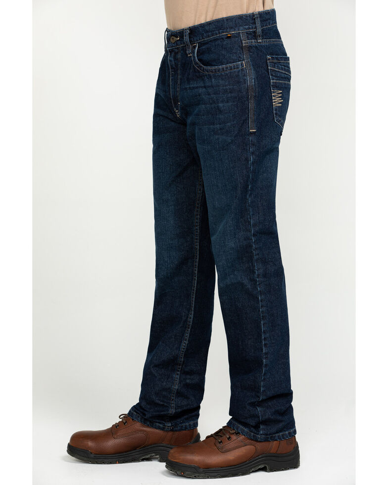 Cody James Men's FR Millikin Slim Straight Work Jeans , Indigo, hi-res