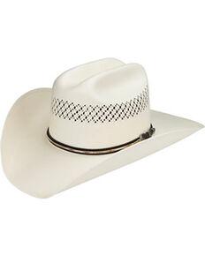 Master Hatters Men's Air Scottsdale 20X Straw Vented Cowboy Hat, Natural, hi-res