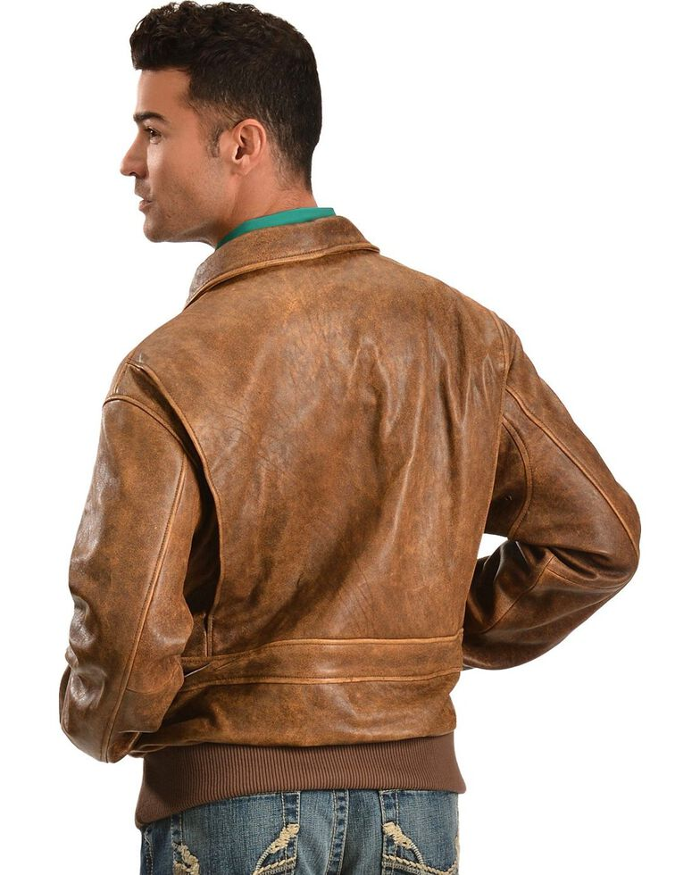 Scully Lambskin Leather Bomber Jacket, Brown, hi-res