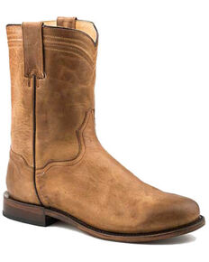 Roper Men's Roderick Western Boots - Round Toe, Brown, hi-res