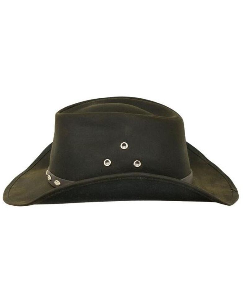 Outback Trading Co. Oilskin Badlands Hat, Brown, hi-res