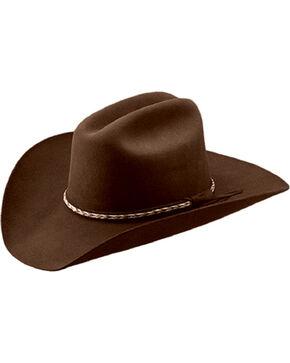 Master Hatters Men's Bandit 3X Wool Felt Cowboy Hat, Cordovan, hi-res