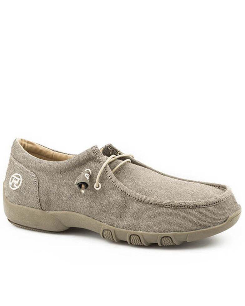 Roper Women's Chillin' Casual Shoes - Moc Toe, Tan, hi-res