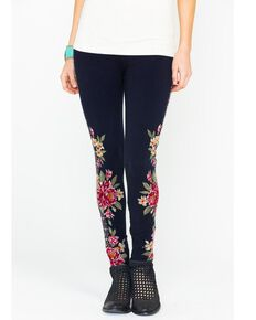 Johnny Was Women's Joanna Leggings, Black, hi-res