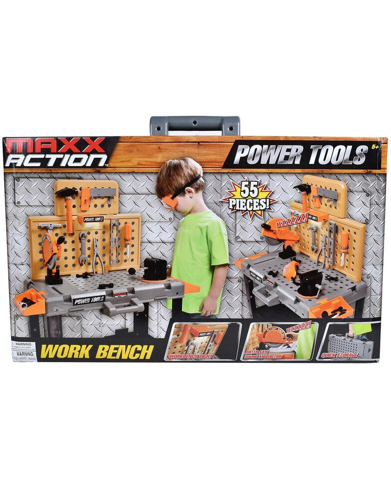 Maxx Action Power Tool Workbench, Black, hi-res