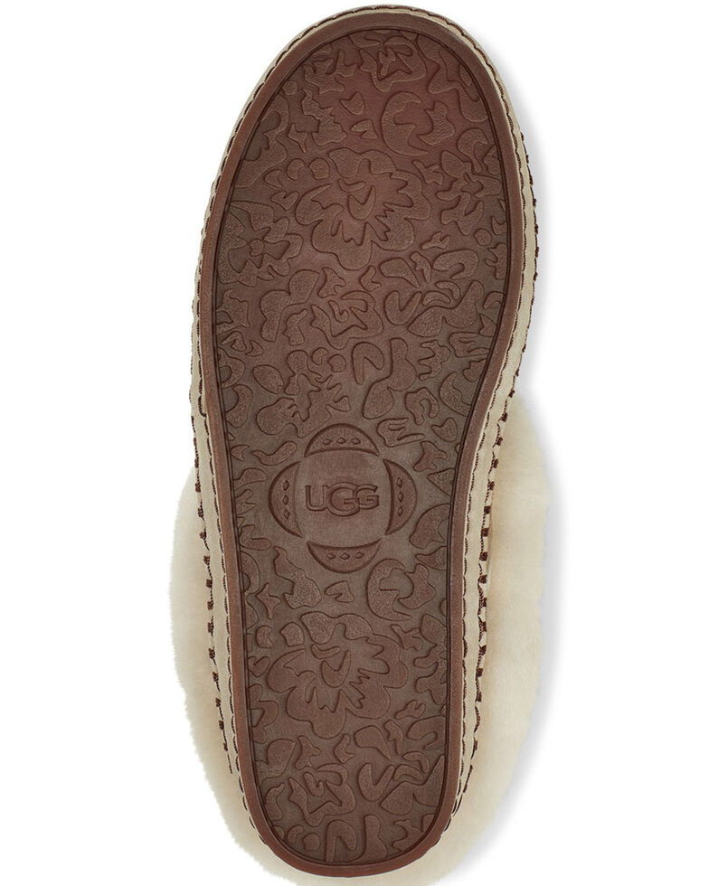 UGG Women's Wrin Suede Slippers, Chestnut, hi-res