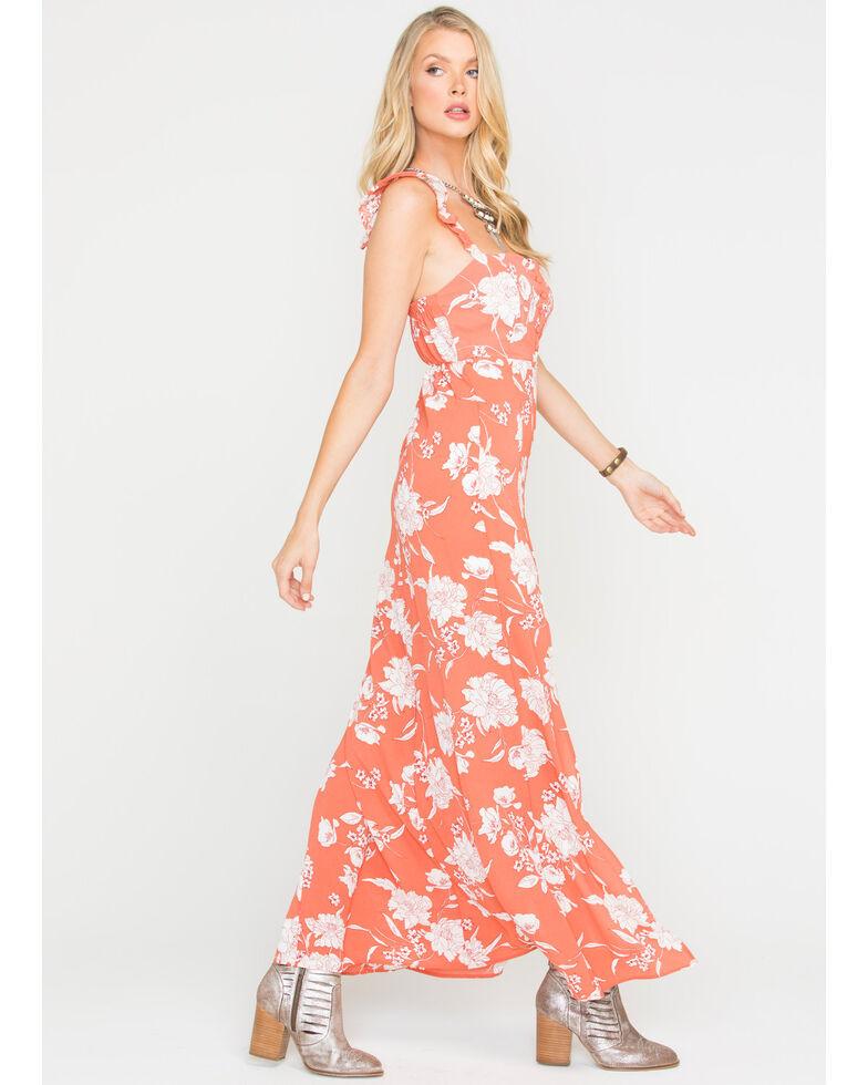 Sage the Label Women's Red Senora Maxi Dress , Red, hi-res