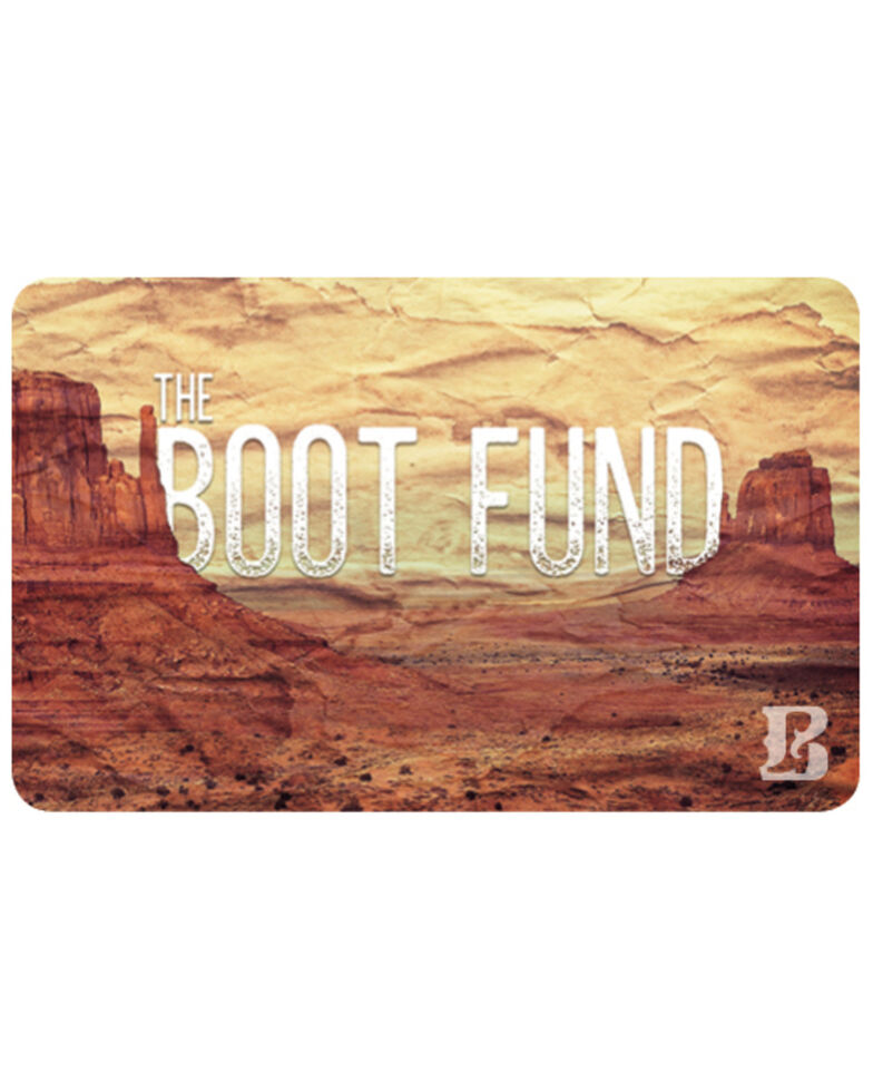 Boot Barn® Boot Fund Gift Card, No Color, hi-res