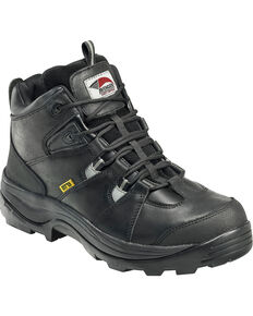 Avenger Men's Work Boots - Steel Toe, Black, hi-res