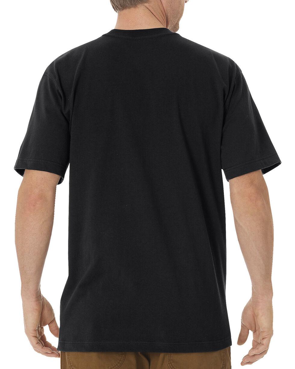Dickies Men's Heavy Weight Short Sleeve Tee, Black, hi-res