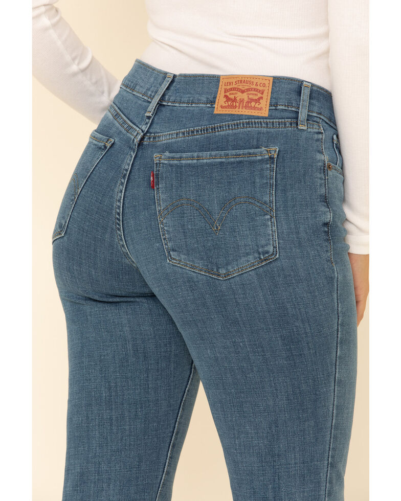 Levi's Women's Classic Bootcut Jeans, Blue, hi-res